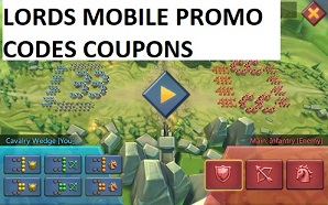 Lords Mobile Promo Codes Coupons