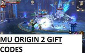 MU Origin 2 Gift Codes