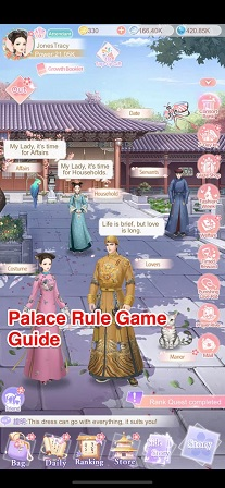 Palace Rule Game Guide Tips Cheats