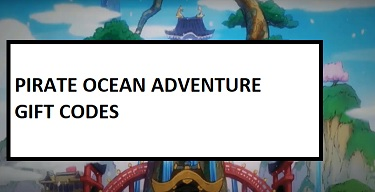 Pirate Ocean Adventure GIft Codes