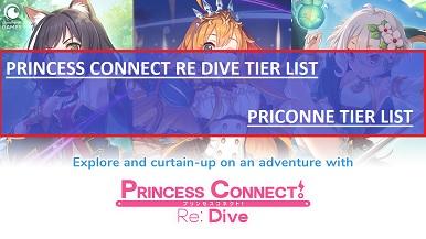 Princess Connect Re Dive Tier List Priconne
