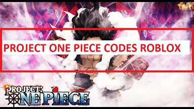Project One Piece Codes Roblox