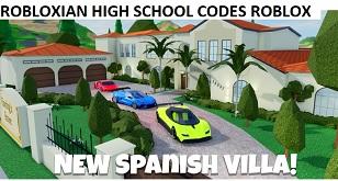 Robloxian High School Codes Roblox