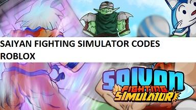 Saiyan Fighting Simulator Codes Roblox