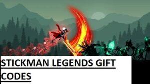 Stickman Legends Gift Codes