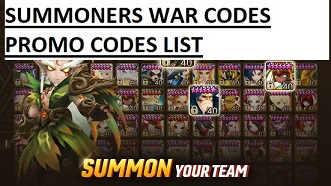Summoners War Codes Promo Code List