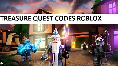 codes for treasure quest roblox