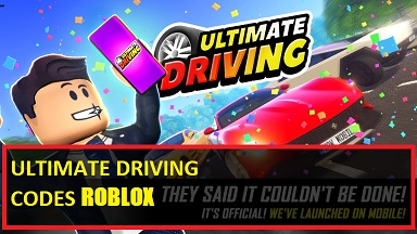 Ultimate Driving Codes Roblox