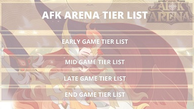 Afk Arena Tier List 2021 Best Heroes February 2021 Mrguider
