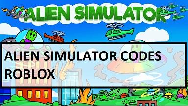Alien Simulator Codes Roblox