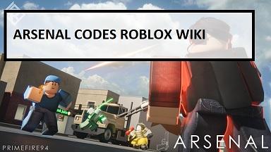 Arsenal Codes Roblox