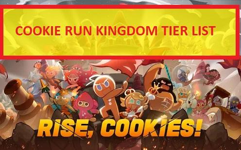 Cookie Run Kingdom Tier List