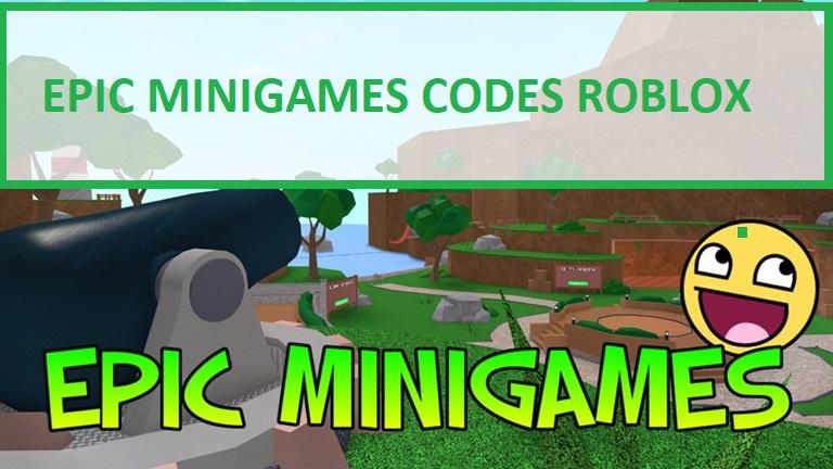 Epic Minigames Codes Roblox