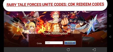 Fairy Tale Forces Unite Codes Redeem