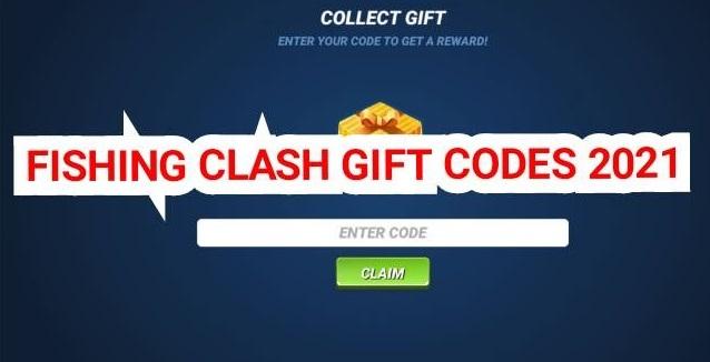 Fishing Clash Gift Codes