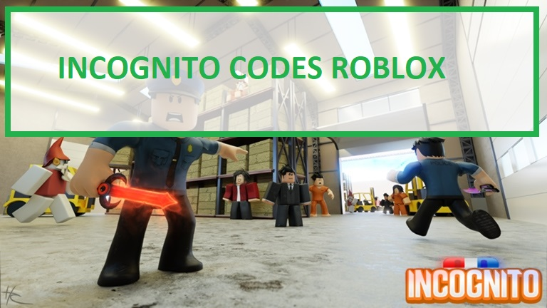 Incognito Codes Roblox