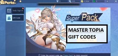 Master Topia Gift Code Codes