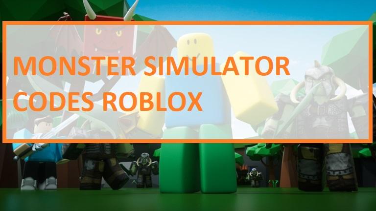 Monster Simulator Codes Roblox