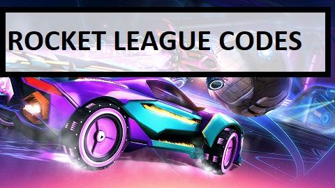 Rocket League Codes