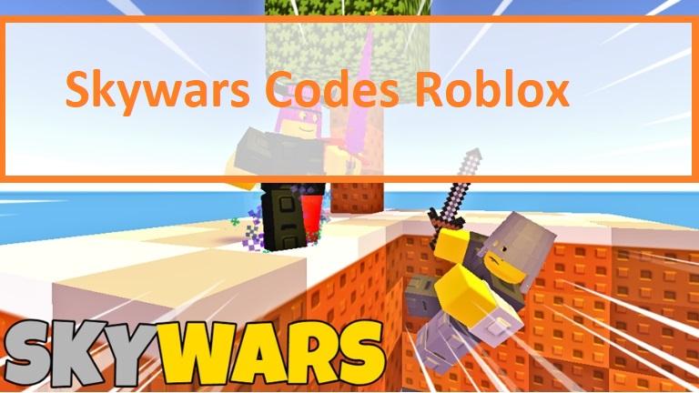 Skywars Codes Roblox
