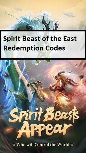 Spirit Beast of the East Redemption Code