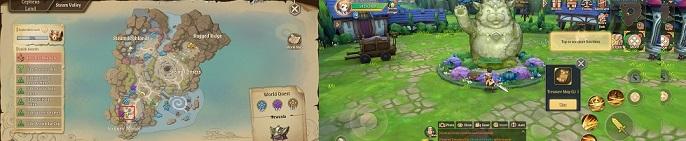 Stella Arcana Treasure Map Locations
