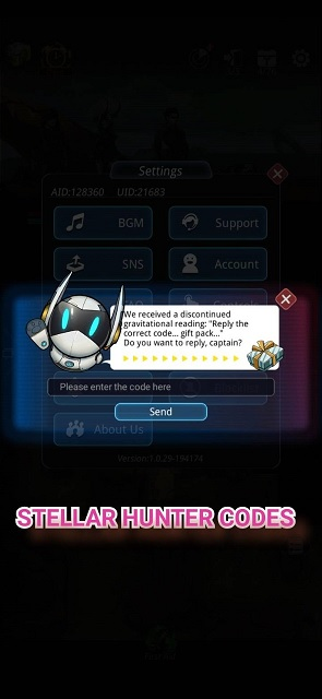 Stellar Hunter Codes