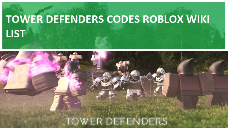 Tower Defenders Codes Roblox Wiki