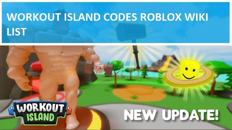 Workout Island Codes Roblox Wiki