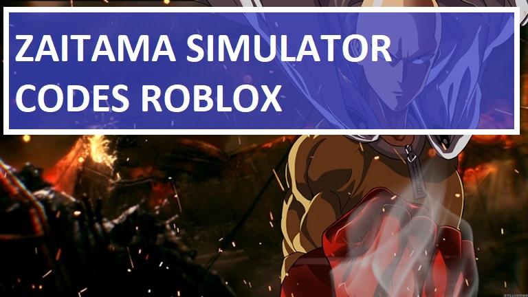 Zaitama Simulator Codes Roblox