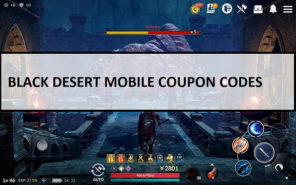 Black Desert Mobile Coupon Codes