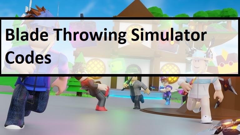 Blade Throwing Simulator Codes