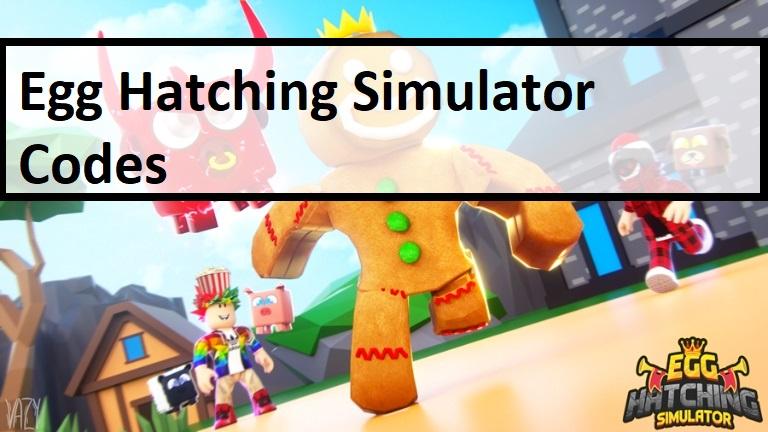 Egg Hatching Simulator Codes