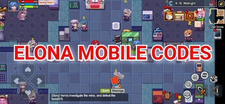 Elona Mobile Codes