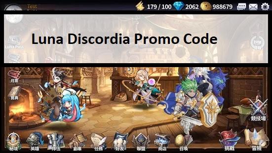 Luna Discordia Promo Code