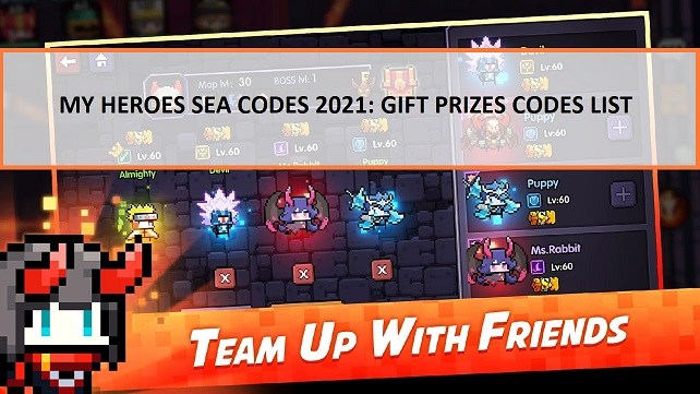 My Heroes SEA Codes