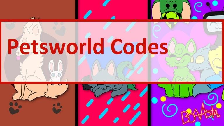 Petsworld Codes