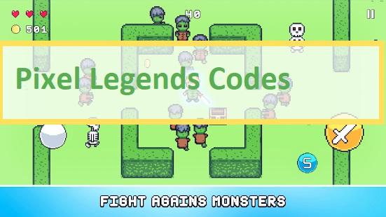 Pixel Legends Codes