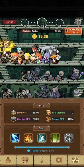 Tap Dungeon Hero