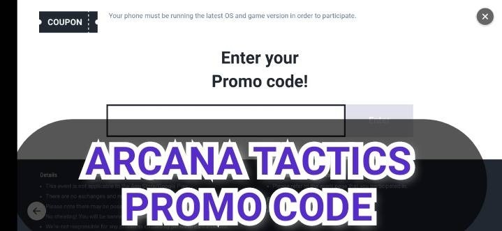 Arcana Tactics Promo Code