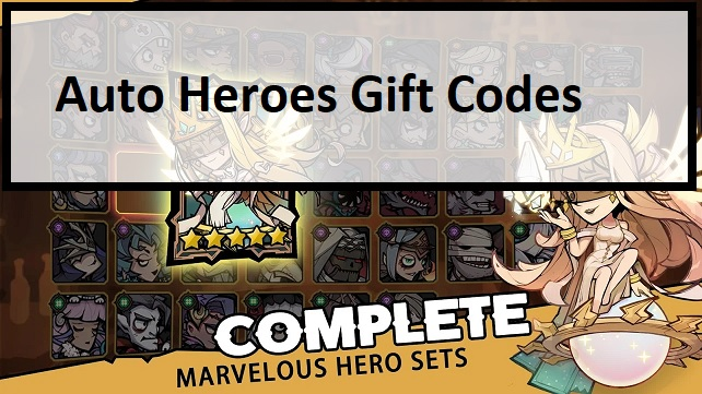 Auto Heroes Gift Codes