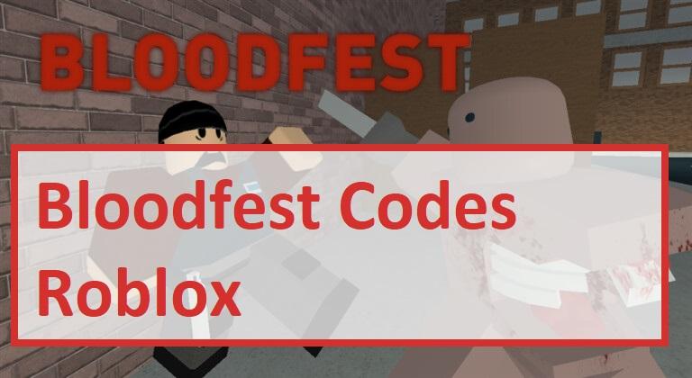 Bloodfest Codes Wiki Roblox