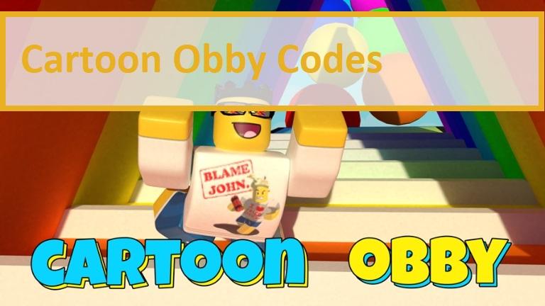 Cartoon Obby Codes