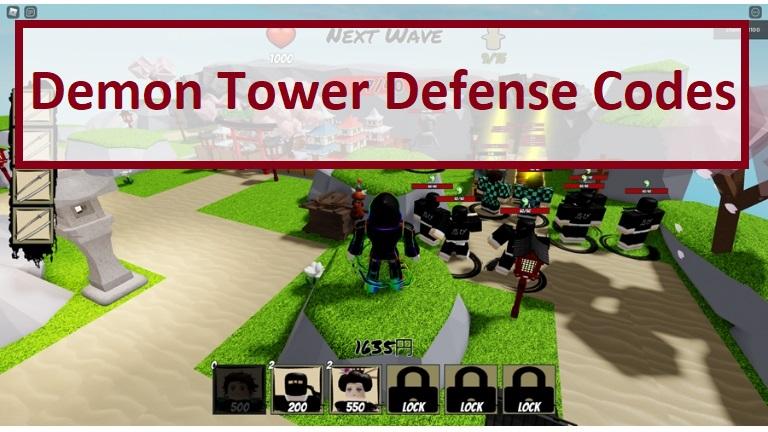 Demon Tower Defense Codes