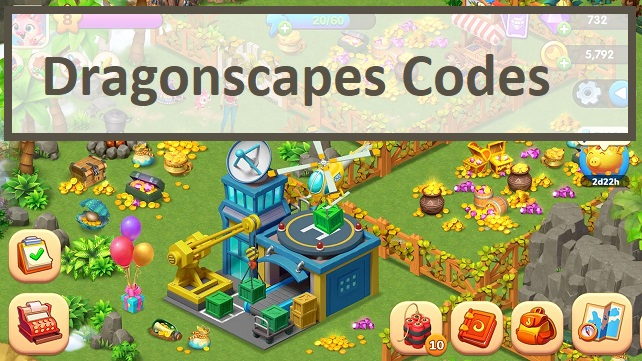 Dragonscapes Codes
