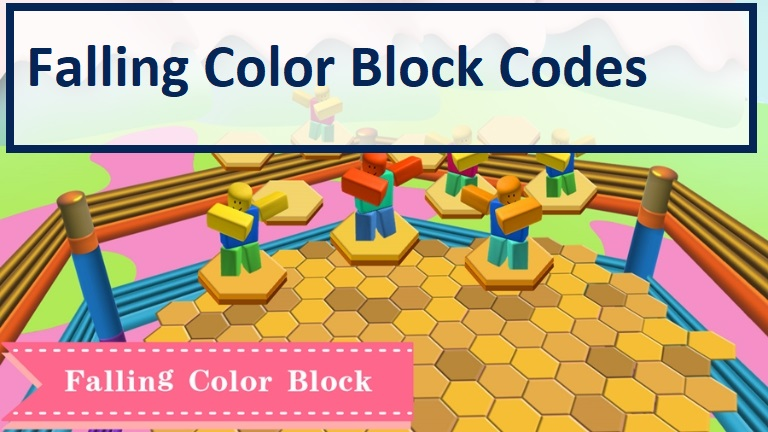 Falling Color Block Codes