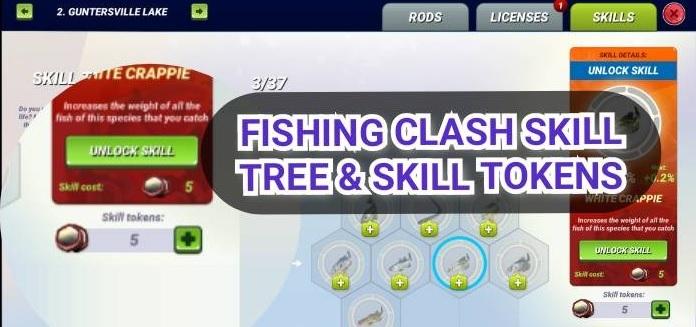 Fishing Clash Skill Tree Tokens