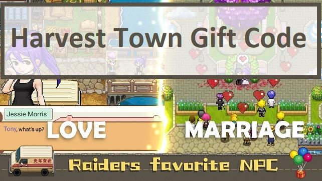 Harvest Town Gift Code