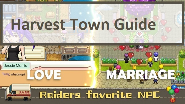 Harvest Town Guide