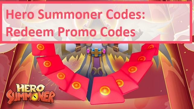 Hero Summoner Codes Redeem Promo Codes